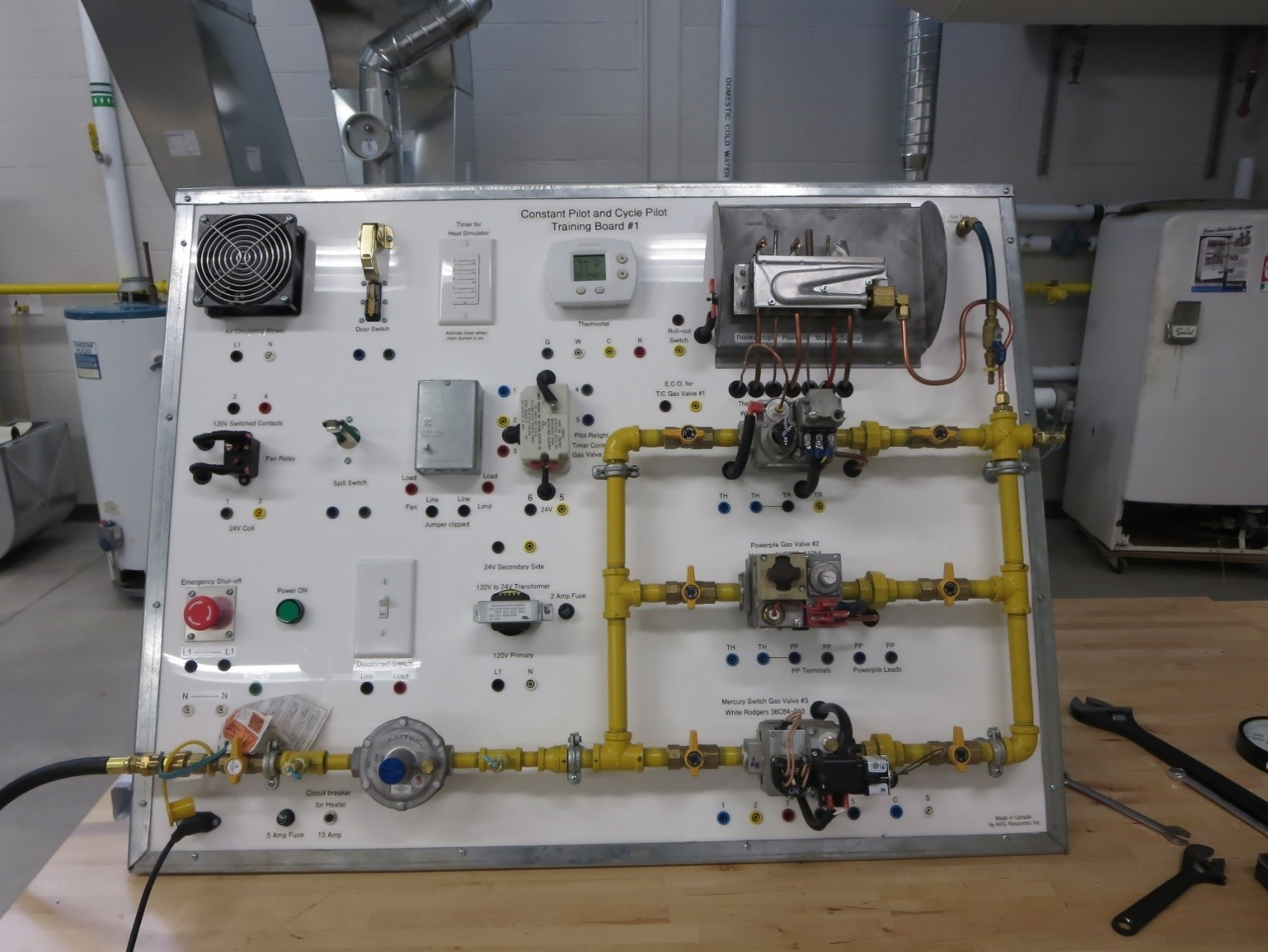 Training Equipment Nrg Resources Inc Electrical Control Wiring G3 G2 Boards