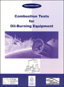 cumbustion tests oil burning equipment